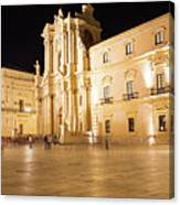 Syracuse, Sicily, Italy - Ortigia Downtown In Syracuse By Canvas Print
