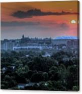 Syracuse Sunrise Canvas Print