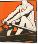 Syracuse University Crewman Canvas Print