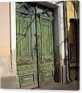 Szentendre Doors Canvas Print