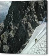 T-504102 1st Ascent On Mt. Shuksan Canvas Print