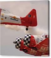T6 Aerobatics II Canvas Print