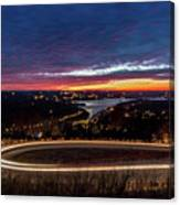 Table Rock Lake Night Shot Canvas Print