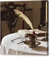 Table Scene Canvas Print