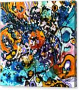 Tacutele Priviri Canvas Print