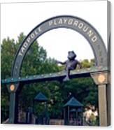 Tadpole Playground Boston Canvas Print