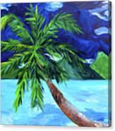 Tahiti Beach Canvas Print