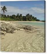 Tahiti Beach,bahamas. Canvas Print