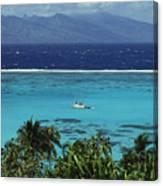 Tahiti, Moorea Canvas Print