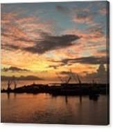 Tahiti Sunset Canvas Print