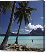 Tahiti View Canvas Print
