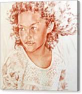 Tahitian Girl Canvas Print