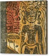 Tahitian Idol Canvas Print