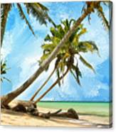 Tahitian Idyll Canvas Print
