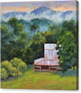 Tahlequah Ridge Morning Canvas Print