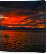 Tahoe Boat Ride Canvas Print