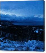 Tahoe Dawning Canvas Print