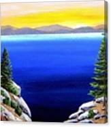 Tahoe Morning Canvas Print