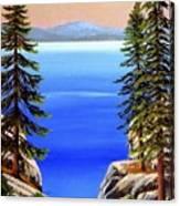 Tahoe Notch Canvas Print