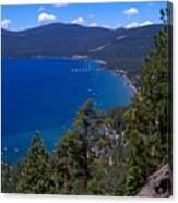 Tahoe Rim Trail Canvas Print