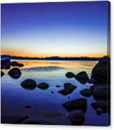Tahoe Serenity Canvas Print