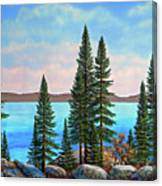 Tahoe Shore Canvas Print