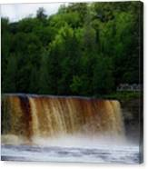 Tahquamenon Lower Falls Upper Peninsula Michigan 10 Canvas Print