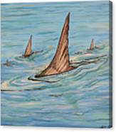 Tailin Bonefish Canvas Print