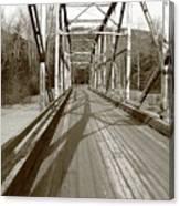 Taiya River Bridge #1 Canvas Print