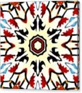 Taj Mahal Kaleidoscope Canvas Print