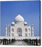 Taj Mahal Landscape Canvas Print