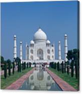 Taj Mahal View Canvas Print