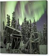 Take A Seat For The Aurora Custom 1x1 Canvas Print