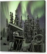 Take A Seat For The Aurora Canvas Print