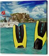 Take Me To Creole Rock Canvas Print