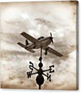 Take Me To The Pilot Canvas Print