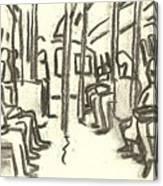 Take The A Train, Nyc Canvas Print