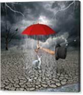 Take This.. It May Rain Canvas Print