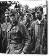 taken prisoner in Normandy Canvas Print