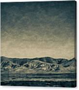 Taking The 5 Through Bakersfield, California Canvas Print
