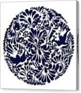 Talavera Design Canvas Print