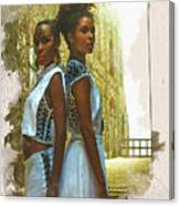 Tale Of Two Sister Canvas Print