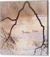 Tales From The Riverbank  Iv Canvas Print