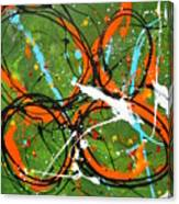 Talking Heads Canvas Print