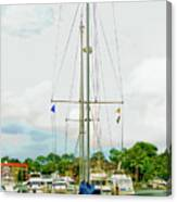 Tall Boat Canvas Print