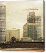 Tall Buildings Canvas Print