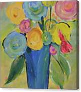 Tall Floral Order Canvas Print