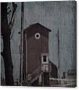 Tall Little Stilt House 3 Canvas Print