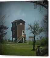 Tall Little Stilt House, Canvas Print