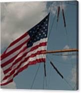 Tall Ship Flag IIi Canvas Print